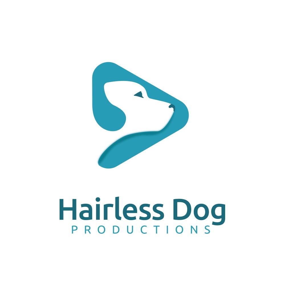 Hairless Dog Logo